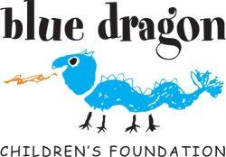 Blue Dragon logo - vertical